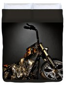 Jesse James Bike 2 Detroit Mi Duvet Cover
