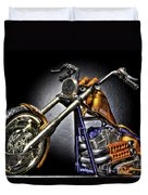 Jesse James Bike Detroit Mi Duvet Cover