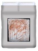 Jesus The Good Shepherd - Tile Duvet Cover