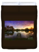 Jetty Sunrise 4.0 Duvet Cover