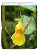Jewel Weed Duvet Cover