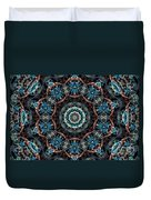 Jeweled Turquoise Duvet Cover