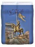 Joan Of Arc Statue New Orleans Duvet Cover