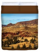 John Day Blue Basin Duvet Cover