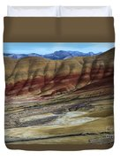 John Day Painted Hills Duvet Cover