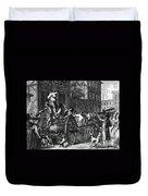 John Malcom (d. 1788) Duvet Cover