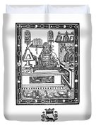 John Peckham, Anglican Theologian Duvet Cover by Science Source
