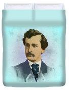 John Wilkes Booth, Assassin Duvet Cover