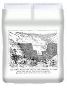 Johnstown Flood: Dam, 1889 Duvet Cover