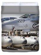 Joint Operations Squadron V4  Duvet Cover
