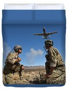 Joint Terminal Attack Controllers Call Duvet Cover