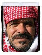 Jordanian Man Duvet Cover