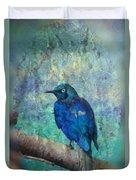 Josh's Blue Bird Duvet Cover
