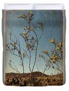Joshua Tree Park In Bloom Duvet Cover
