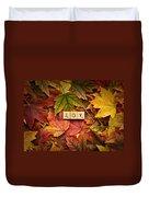 Joy-autumn Duvet Cover