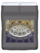 Jp Morgan Library Ornate Ceiling Duvet Cover