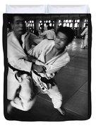 Judo Duvet Cover