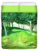 Jungle 2 Duvet Cover by Anil Nene