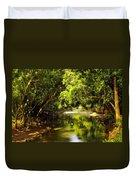 Jungle Stream Below The Secret Duvet Cover