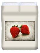 Just 2 Classic Berries Duvet Cover