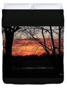 Just A Little Bit Higher -- Sunrise Duvet Cover