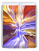 Just Abstract V Duvet Cover