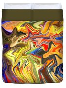 Just Abstract Viii Duvet Cover