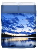 Just Before Nightfall Duvet Cover