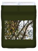 Juvenile Snowy Egret Duvet Cover