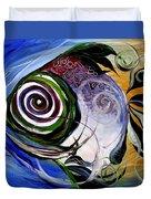 J.v. Wishin Fish 3 Duvet Cover
