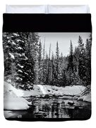 Kananaskis Creek Duvet Cover