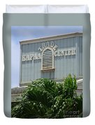 Kapaa Trade Center Duvet Cover