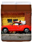Karmann Ghia Duvet Cover