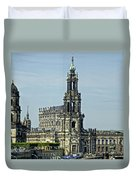 Katholische Hofkirche - Dresden Duvet Cover