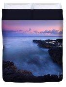 Kauai  Pastel Tides Duvet Cover