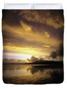 Keel, Achill Island, Co Mayo, Ireland Duvet Cover
