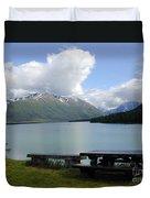 Kenai Lake Duvet Cover