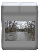 Kennedy Bridge Over French Creek Duvet Cover