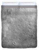 Kepler Crater On The Surface Of Mars Duvet Cover