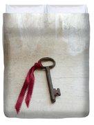 Key On Windowsill Duvet Cover