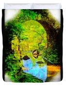 Keystone Bridge Duvet Cover