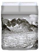 Khumbu Glacier Duvet Cover