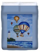Kid's Art- Balloon Ride Duvet Cover
