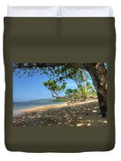 Kilauea View From Princeville Duvet Cover