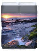 Killala Bay, Co Sligo, Ireland Sunset Duvet Cover
