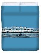Killer Whales Duvet Cover