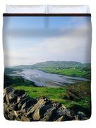 Killybegs, Co Donegal, Ireland Stone Duvet Cover