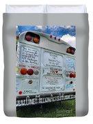 Kindness Bus 3 Duvet Cover