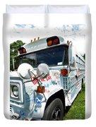 Kindness Bus 4 Duvet Cover