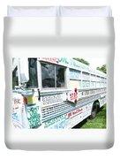 Kindness Bus 8 Duvet Cover